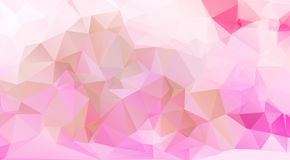 Pink Pattern. triangular template. Geometric sample. Repeating r Royalty Free Stock Photography