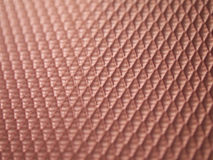 Pink patterned ground. The surface is made of plastic, this pink patterned geometry Royalty Free Stock Photo