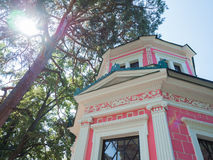 Pink pavilion Royalty Free Stock Photo