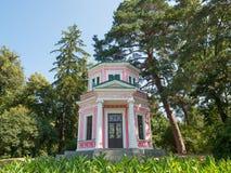 Pink pavilion Stock Photos