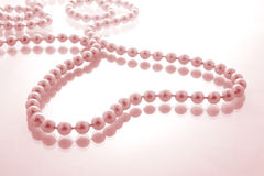 Pink Pearl Heart Royalty Free Stock Photos