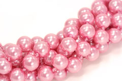 Pink pearls Royalty Free Stock Photography
