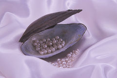 Pink pearls Royalty Free Stock Images