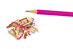 Pink pencil Royalty Free Stock Photo