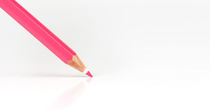 Pink pencil Stock Images