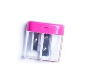 Pink pencil sharpenernd Stock Photography