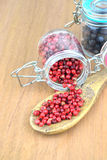 Pink pepper berries Stock Image