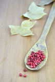 Pink pepper berries Royalty Free Stock Photos