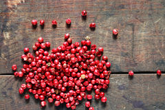 Pink Pepper Stock Photography