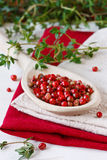 Pink peppercorns. Royalty Free Stock Photos