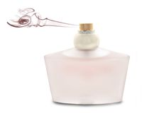 Pink perfume Royalty Free Stock Photos