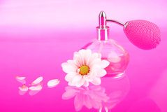 Pink perfume Royalty Free Stock Images