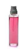 Pink perfume bottle Royalty Free Stock Images