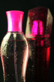 Pink Perfume Vials Stock Images