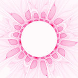 Pink Petals. Soft pink floral abstract border/background Royalty Free Stock Image