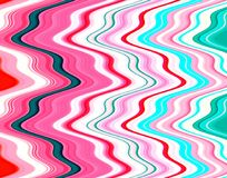 Pink phosphorescent sparkling winter pastel colorful abstract background. Pink phosphorescent hues and elegant lines in various colors, abstract watercolor stock illustration