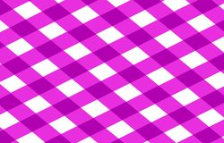Pink picnic cloth Stock Photo