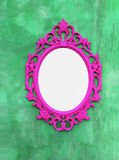 Pink Picture frames or mirrors Royalty Free Stock Photos