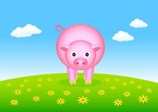 Free Pink Pig Royalty Free Stock Photos - 17876878