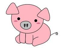 Pig cartoon Stock Images