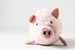 The pink pig Stock Photography