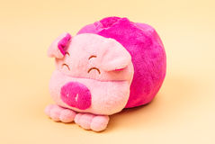 Pink Pig Doll Royalty Free Stock Photo
