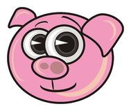 Pink pig Stock Images