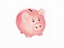 Pink piggy Royalty Free Stock Photo