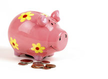 Free Pink Piggy Bank Royalty Free Stock Images - 2968369