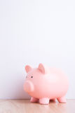 Pink piggy bank Royalty Free Stock Images