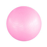 Pink pilates ball Stock Photography