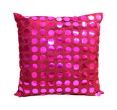 Pink pillow Stock Photos