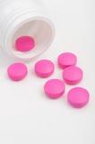 Pink Pills stock photography