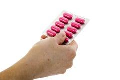 Pink Pills Royalty Free Stock Photo