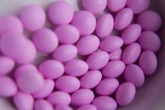 Pink pills to treat hyperthyroidism Stock Image