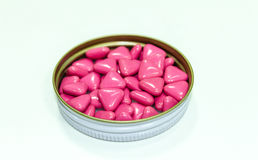 Pink Pills Royalty Free Stock Photos