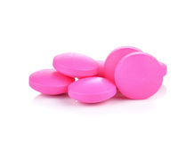 Pink pills Royalty Free Stock Photo