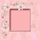Pink pink frame Royalty Free Stock Photo