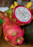 Pink pitahaya Royalty Free Stock Images