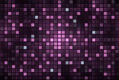 Pink pixel mosaic background Royalty Free Stock Photo