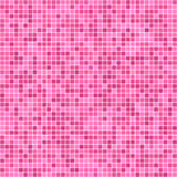 Pink pixel mosaic background Royalty Free Stock Photography