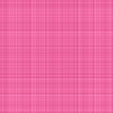 Pink plaid Stock Photography