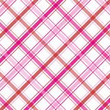Pink Plaid. Pattern for background Stock Photo