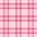 Pink Plaid Royalty Free Stock Photos