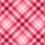 Pink Plaid Stock Images