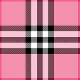 Pink Plaid. Plaid background pattern in shades of pink vector illustration
