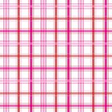 Pink Plaid Stripes Royalty Free Stock Photo