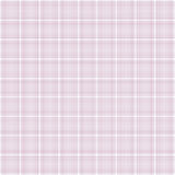 Pink plaid texture for a baby girl album Stock Photography
