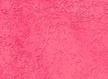 Pink plastered wall Royalty Free Stock Image