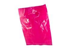 Pink plastic bag Royalty Free Stock Photo